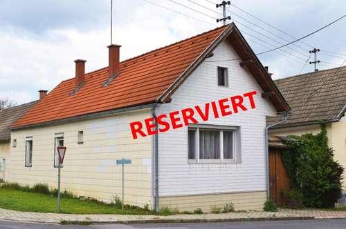 """Kleines Einfamilienhaus in Rattersdorf """"RESERVIERT"""""""