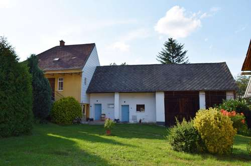 Kleines Wohnhaus in Ruhelage