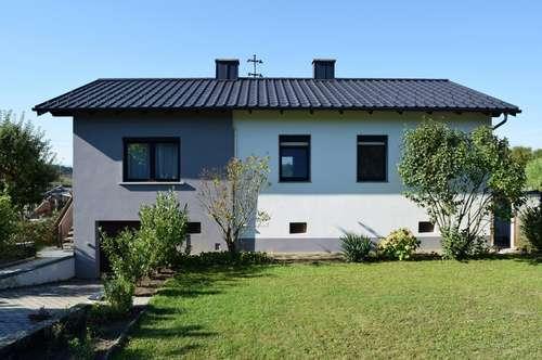 gepflegtes, geräumiges Einfamilienhaus in Ruhelage in Lackenbach