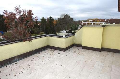 moderne 2-Zimmer-Wohnung mit großer Dachterrasse