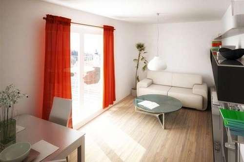 Provisionsfrei: 1220 Wien, Erstbezug: 2 Zimmer-Wohnung mit Balkon und Garagenplatz