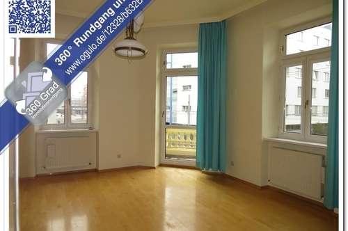 Ideale 3er WG: Stilvoller 5 Zimmer-Altbau mit kleinem Balkon in schönem Jahrhundertwendehaus