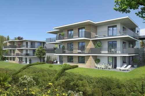 Seenähe - moderne, helle 3 Zimmer Neubauwohnung mit 33m² Balkon