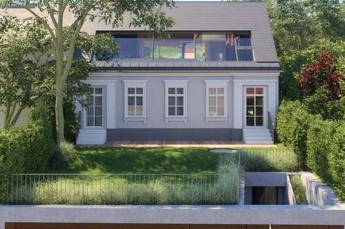 Südseitiger Baugrund mit baugenehmigter Luxusvilla!