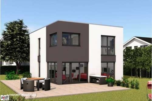Preßbaum, Rekawinkel, provisionsfrei, freistehende, frei planbare Einfamilienhäuser mit Vollkeller in der Ausbaustufe: AUSSEN FERTIG, INNEN ROH