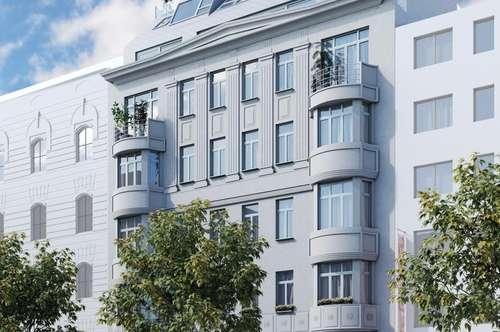 DER KANDLHOF - 65m² ALTBAU ERSTBEZUG mit BALKON - URBANES WOHNEN in 1070 Wien