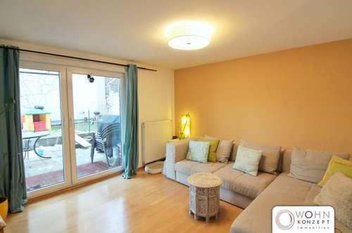 WOHNEN AM KUTSCHKERMARKT - Helle 90m² Maisonette mit Terrasse und Garten - 1180 Wien