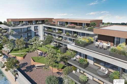 Exklusive Neubau Erstbezüge in ACHAU nahe Laxenburg - mit Gärten oder Freiflächen - BEL AIR - Premium Garden Suites - 2481 ACHAU