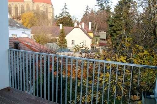 Wunderschöne und ruhige Albauwohnung mit großer TERRASSE & Loggia, Nähe Fußgängerzone Mödling