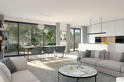 ACHAU nahe Laxenburg - Exklusive Neubau Erstbezüge mit Gärten oder Freiflächen - BEL AIR - Premium Garden Suites