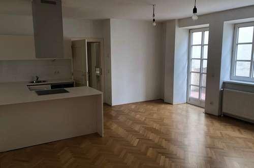 Renovierte 2-Zimmer Wohnung mit Terrasse ab sofort zur Miete
