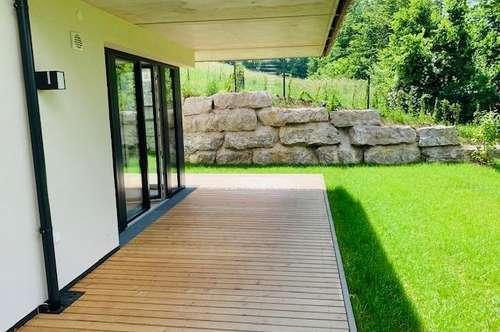 Wohnen am See, 3- Zimmer Neubau Gartenwohnung in Mattsee - zur Miete