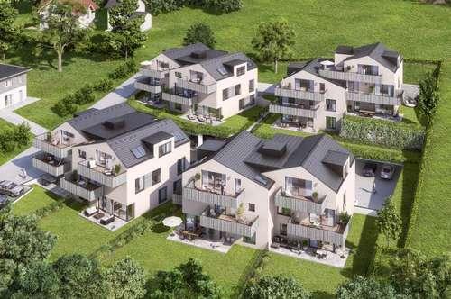 Neubau - Großzügige 3 Zimmer Gartenwohnung in Mattsee - zum Kauf