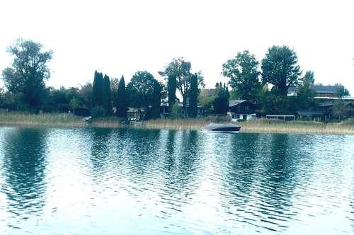 Mattsee/Nordufer: Einzigartige Seeliegenschaft mit genehmigten Neubauprojekt