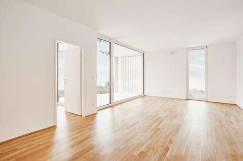 Salzburg Liefering an der Glan, 3-Zimmer-Neubau-Wohnung, große Loggia zur Miete