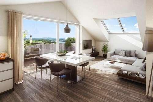 Exclusives Wohnen am Mattsee, 4- Zimmer Terrassenwohnung - zum Kauf