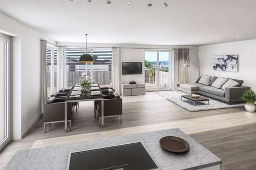 Exclusives Wohnen am Mattsee - 3 Zimmer Neubau Gartenwohnung - zum Kauf