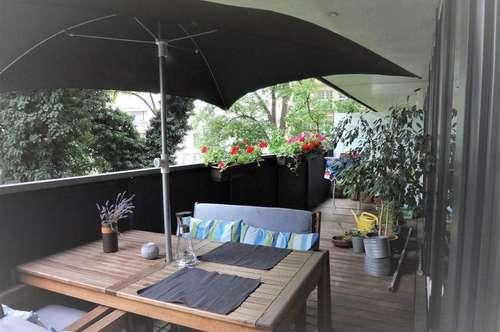 BESTLAGE in zentraler Stadtlage: Schöne, gepflegte 3-Zimmerwohnung mit großem Balkon und TG-Stellplatz