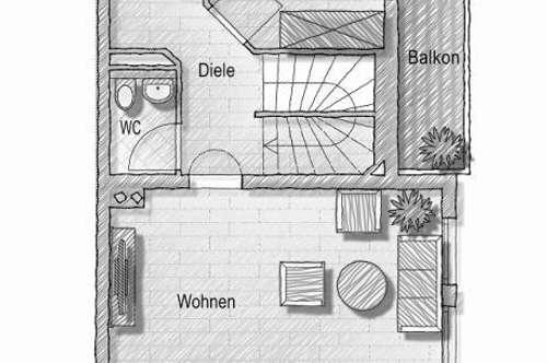 PREISREDUZIERT! Sofort bezugsbereit! Wattens - Maisonettenwohnung mit Terrasse, 2 Balkone und TG Abstellplatz!