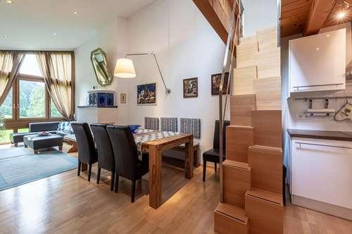 Vollausgestattetes Apartment für die Wintersaison mit Skianbindung in Kitzbühel