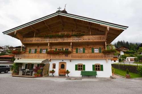Neu ausgebautes Apartment in wunderschönem Bauernhaus in Kirchberg
