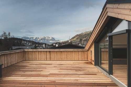 High-Class Penthouse mit fantastischem Ausblick im Herzen von Kitzbühel