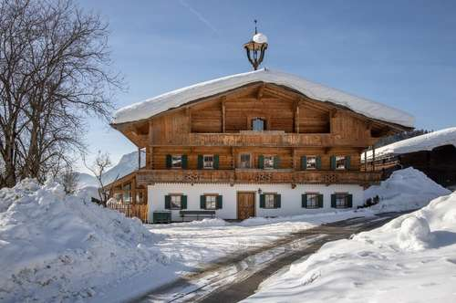 Bezauberndes Bauernhaus in idyllischer und sonniger Traumlage von Ellmau