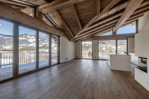 Erstbezug – moderne Haushälfte in traumhafter Aussichtslage von Kitzbühel