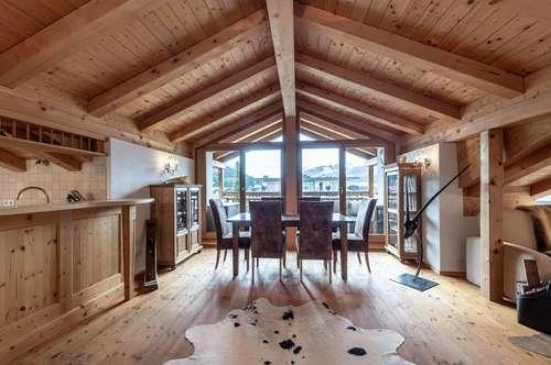 Reizendes Dachgeschoss Appartement in zentraler Lage von Kirchberg