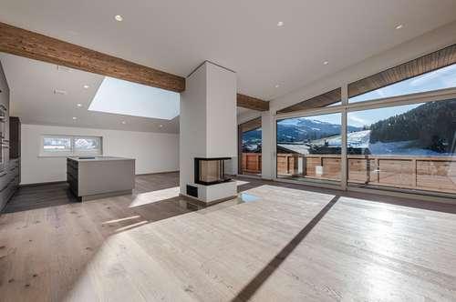 Luxuriöse Dachgeschoßwohnung in zentraler und sonniger Lage von Kirchberg