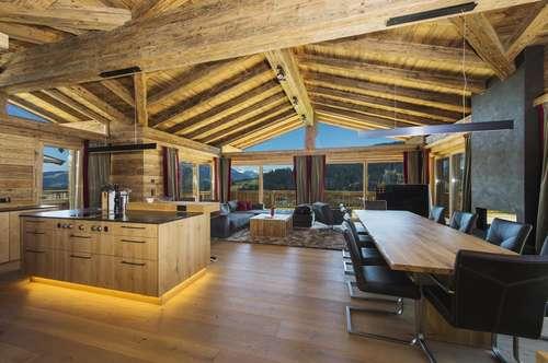 Luxuriöse Landhausvilla in wunderschöner Aussichtslage von Going