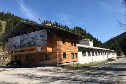 Werkshallen mit angebautem Büro-/Wohngebäude in Filzmoos