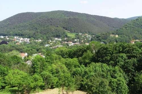 Grundstück mit Panoramaaussicht in Ruhelage