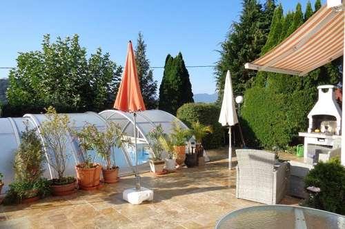 Luxus vor den Toren Salzburg´s: Großzügige 2-3-Zi.-Wohnung mit Pool und 2 Terrassen