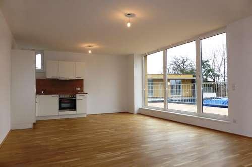 MIETE LIEFERING -NEUBAU/ERSTBEZUG: Saalachstraße: Schöne 78 m² 3 Zimmer-Penthaus/Dachgeschoss-Wohnung mit 24 m² Süd-Terrasse