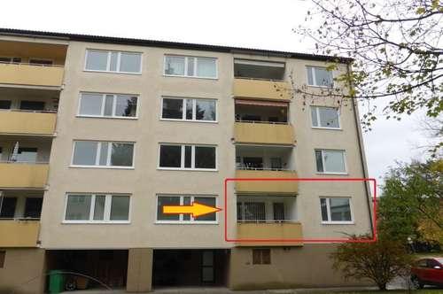 MIETE PARSCH - Ignaz Rieder Kai 19: Ruhige 99m² 4 Zimmer-Eck-Wohnung mit 6m² West-Loggia - teilsaniert