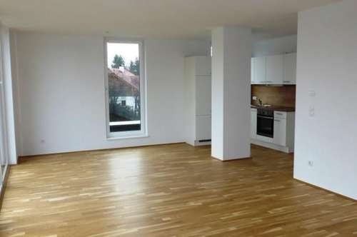 MIETE NEUBAU/ERSTBEZUG LIEFERING - Saalachstraße 86: Schöne 84 m² 3 Zimmer-Penthaus/Dachgeschoss-Wohnung mit 19 m² Nord-Balkon - Top W 12