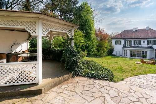 BESSER DIE BESTE LAGE, ALS DIE ERSTBESTE! Villa mit Schwimmhalle in Villengegend von Hietzing