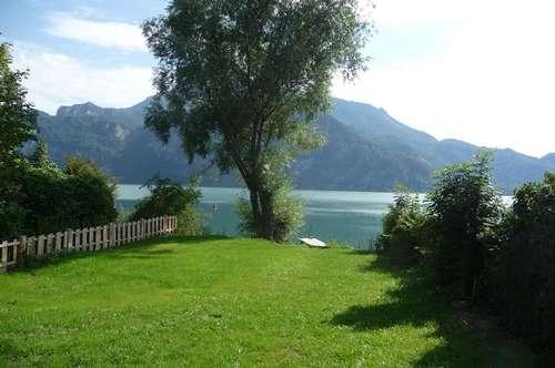 Lakeside Living am MONDSEE! Neubau-Einfamilienhaus mit Badeplatz und Seezugang