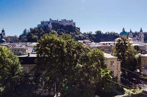 I like Salzburg! Purer Lifestyle - Villenetage mit Festungsblick in der Altstadt