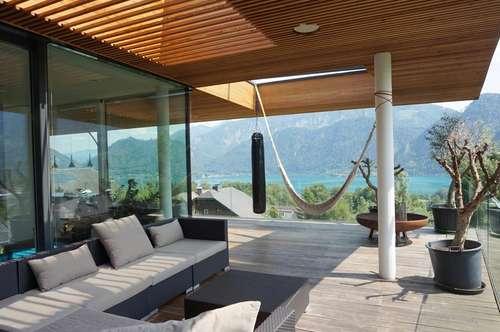 Auf der Sonnenseite! Naturschöne Designer-Villa mit Seeblick