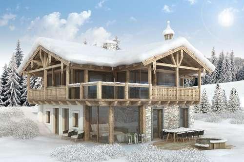 ZWEITWOHNSITZ IN HOLLERSBACH: Neubau-Chalets mit Direkteinstieg in die Panoramabahn Kitzbüheler Alpen
