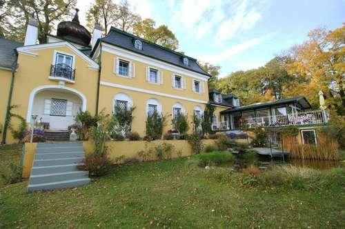 Anwesen auf 6.887 qm Parkgrund im Romantikstil - 23 Minuten südlich von Wien