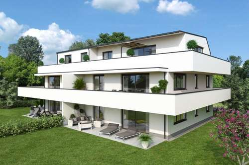 GARTEN-KAVALIER MIT AIGEN-LEBEN! 3-Zimmer-Wohnung in kleinem und hochwertigen Bauprojekt!