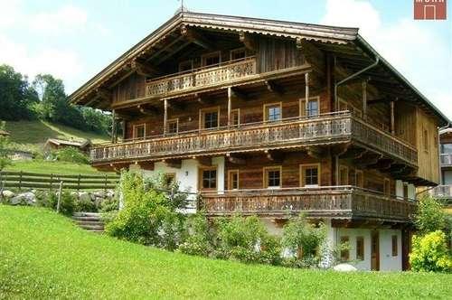 JOCHBERG: 4-Zimmer-Wohnung in ehemaligem Bauernhaus