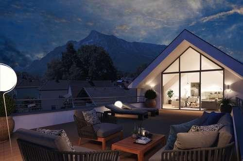 RUHELAGE GNEIS:  133 m² Dachterrassen-Wohnung Wohlfühlen ist Trumpf!