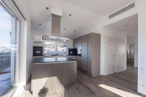 AUSSICHTSLAGE IN MATTSEE! Moderne Wohnung samt  Sonne, See und Wohnkultur