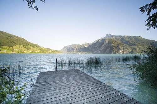 Landhausvilla am See mit ZWEITWOHNSITZ! Sonnenstunden am eigenen  70 Meter Seeufer genießen!
