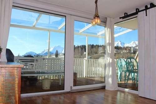 Garten-Terrassenwohnung mit Aussicht