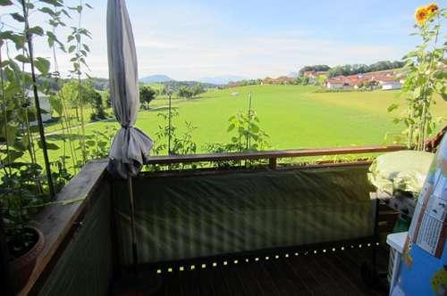 Sonnige 3 Zi-Wohnung mit Balkon und Fernblick